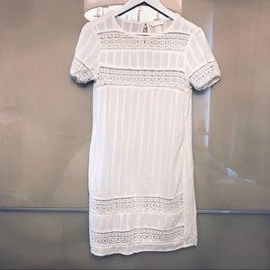 Dresses & Skirts - Off White Cotton Dress Size 2 NEW